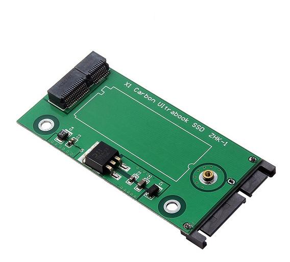 3*20 + 6 Pin Ssd Para Sata Conversor De Cartão Adaptador De