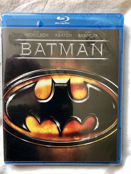 Bluray Batman Version 1989 Michael Keaton