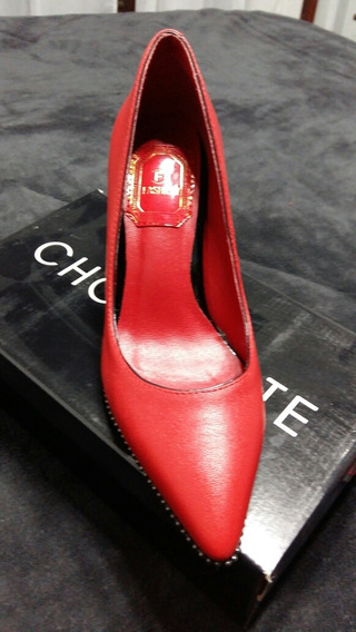 Zapatos Mujer Rojos N 37