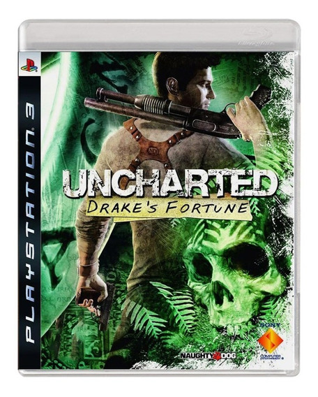 Uncharted Drakes Fortune - Ps3 - Usado - Original