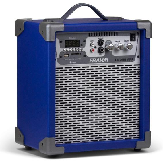 Caixa De Som Amplificada Frahm - Lc250app 60w Bluetooth Usb