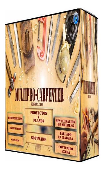 Fabricar Muebles De Madera Con Multipro Carpenter En Dvd