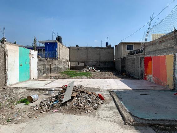 Terreno Sin Construcción - Cerca Av Central Y Metro Ecatepec