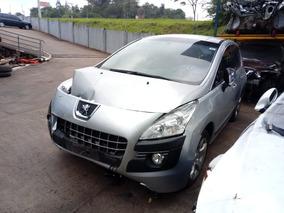 Sucata Peugeot 3008 2012 Allure Automatico Thp 156 Cv