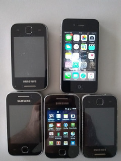 Celulares iPhone 4 E Samsung Pocket Usado