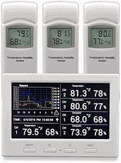 Clima Ambiental Ws 3000 X3 Monitor Inalámbrico Termohigrómet