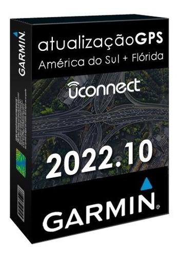 Atualização Gps Garmin Uconnect Ctp11 Ctp12 Mapa Radares