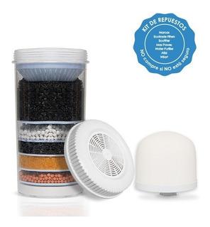 Kit 3 Repuestos Para Filtro Purificador Ecotrade Filters