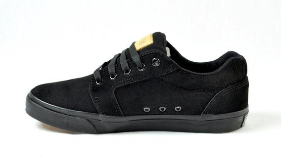 Tenis Core Footwear Gamusa Negros Cortos