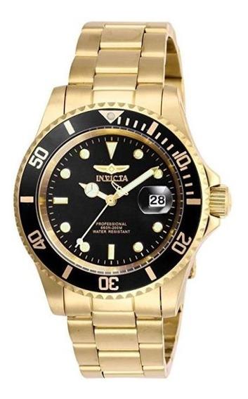 Reloj Invicta Pro Diver De Cuarzo Para Hombre Oro 26975