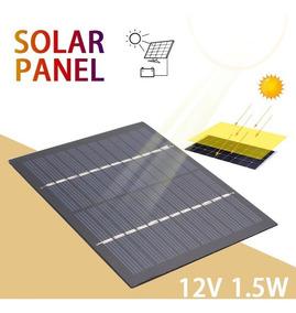 Célula Painel Placa Solar 12v 1,5w