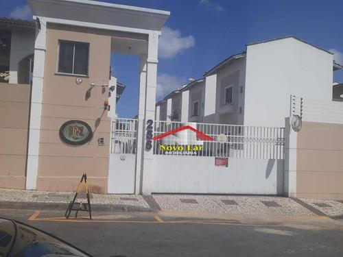 Casa Com 3 Dormitórios À Venda, 75 M² Por R$ 280.000,00 - Itaperi - Fortaleza/ce - Ca0239