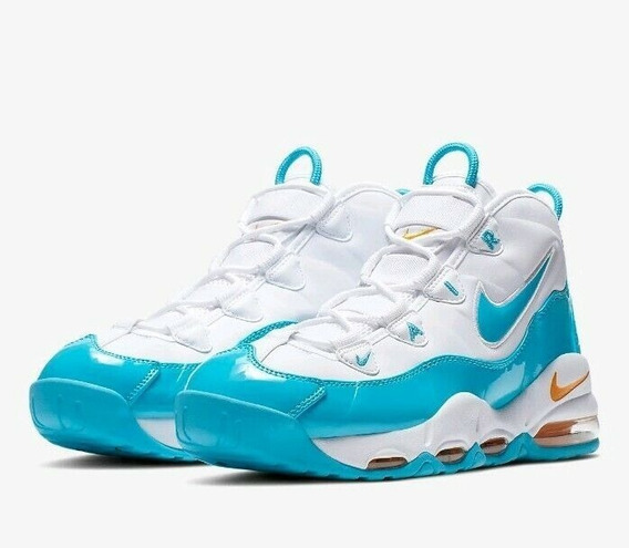 Zapatillas Nike Air Max Uptempo 95 White/blue Fury