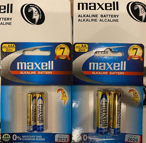 Maxell Blister De 2 Unidades Aaa-aa 100%originales