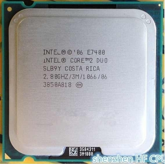 Lga 775 Core2duo E7400 2.8ghz