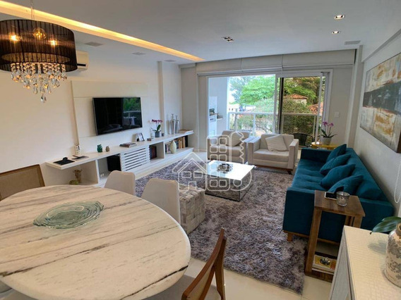 Apartamento Com 3 Dormitórios À Venda, 160 M² Por R$ 1.200.000,00 - São Francisco - Niterói/rj - Ap2570