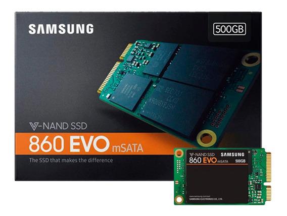 Ssd Msata Samsung 860 Evo 500 Gb V Nand - Pronta Entrega
