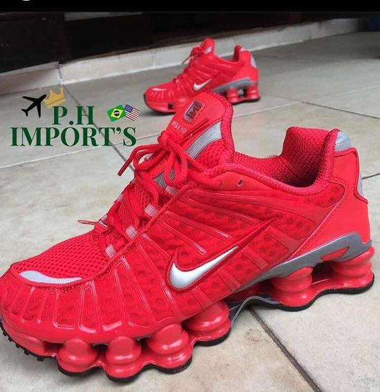 Tênis Nike Shox Tl Vermelho N40
