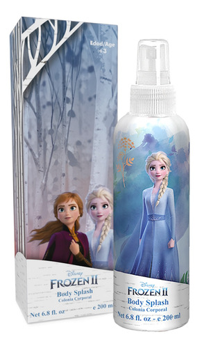 Perfume Infantil Frozen Disney Body Splash 200ml