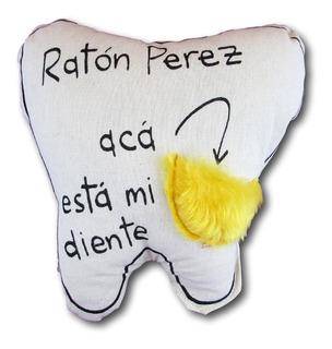 Almohadon Raton Perez Frase Decorativoinfantil