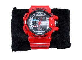 Relógio Masculino G-shock Casio Preto, Vermelho, Azul, Verde