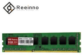Memória Reeinno 8gb Ddr3 1600mhz Desktop240pin 1.5v Para Amd