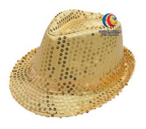Sombrero Michael Jackson Oro O Negro