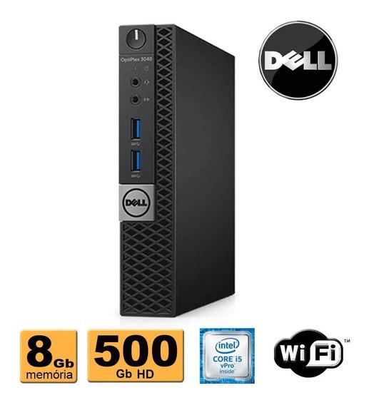 Mini Cpu Dell 3040 Intel Core I5 8gb 500gb Wifi Promoção