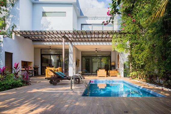Por Mudanza Urge Vender Gran Casa En Playa Del Carmen