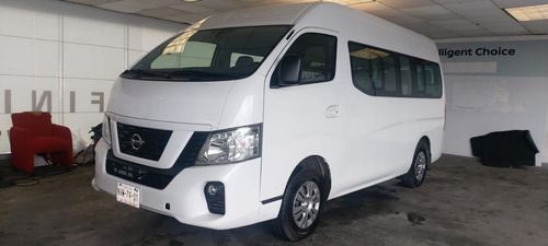 Imagen 1 de 10 de Nissan Urvan 2020 2.5 15 Pas Amplia Aa Mt