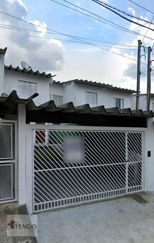 Sobrado 260 M² - Alugar - 3 Dormitórios - Centro Alto - Ribeirão Pires/sp - So0548