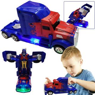 Carro Transformers Optimus Juguetes Jugueteria Didactico