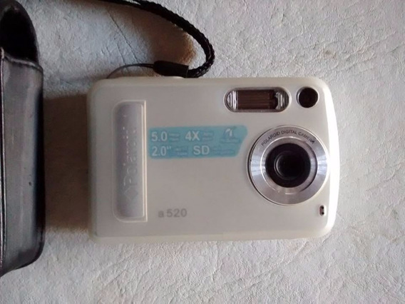 Cámara Digital Compacta Polaroid Con Tpu + Sd + Lcd + Funda!