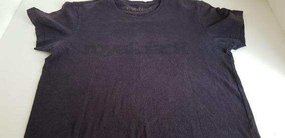 Camisa Osklen -m- Royal Black Usada Leia Os Detalhes