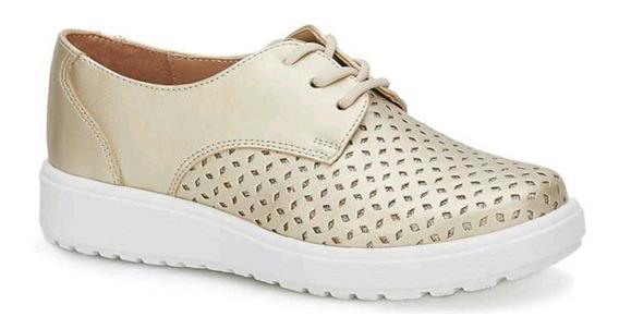 Zapato Beige Casual Para Niña Talla 18 A La 21.