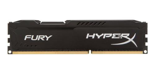 Imagen 1 de 5 de Memoria Hyperx Fury 4gb Ddr3 Gamer Pc 1600 Tranza