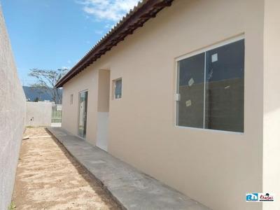 Casa Nova Em Caraguatatuba Com 02 Dormitórios- Financiamento - 1185