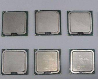 6 Processador Intel Socket 775 - Lote 3