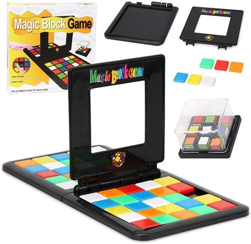 Magic Block Juguete Educativo De Mesa Batalla De Colores