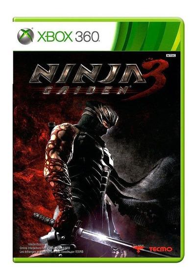 Ninja Gaiden 3 - Xbox 360 - Original - Mídia Física - Usado