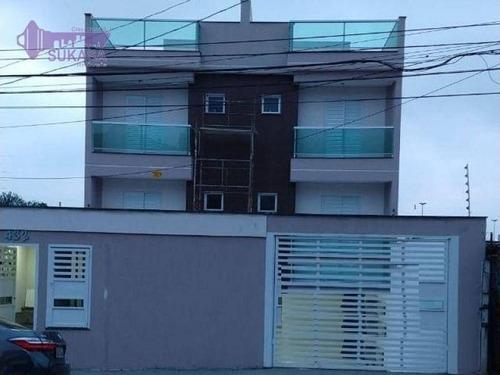 Cobertura Com 3 Dormitórios À Venda, 70 M² Por R$ 580.000,00 - Vila Eldízia - Santo André/sp - Co0040