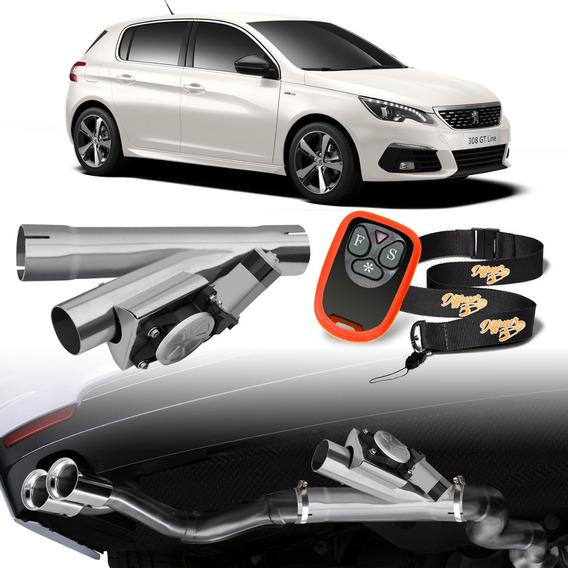 Difusor Escapamento Inox Sport Universal Peugeot 308