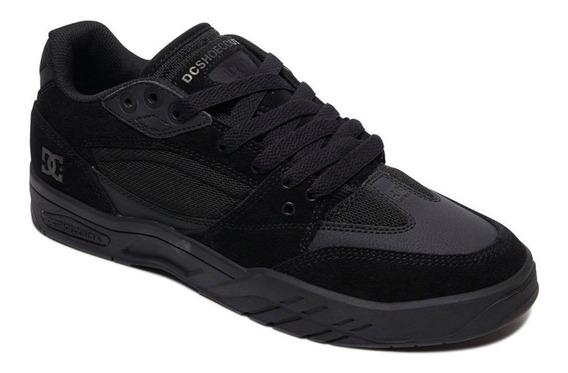 Tênis Dc Shoes - Maswell - Inteiro Preto - 100% Original!!!