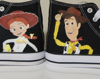 Zapatos Toy Story Woodie Marca Collec Diseño Hecho A Mano