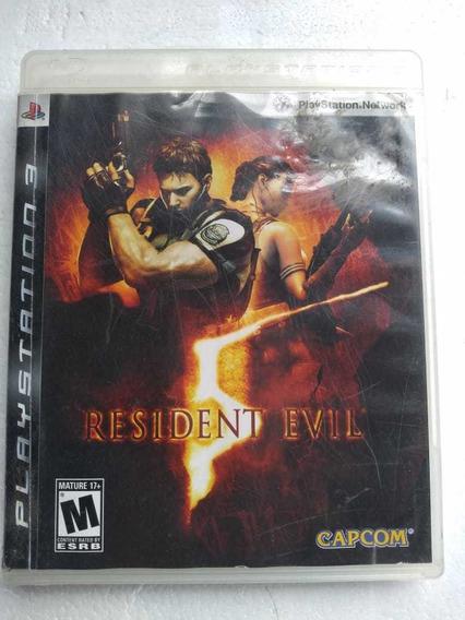 Resident Evil 5 Ps3 Mídia Fisica Play 3