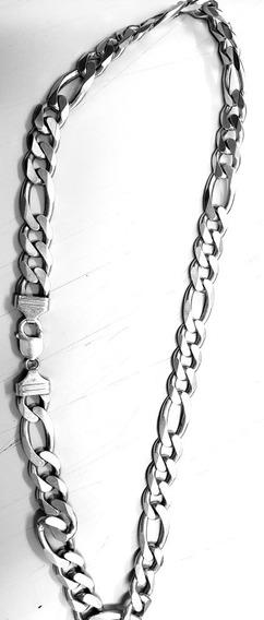 Corrente Prata 925 Elo 3 Em 1 60cm