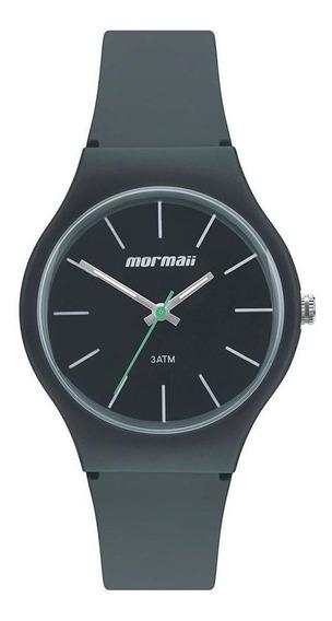 Relógio Mormaii Wave Unissex Mo2035kf/8c Silicone Preto