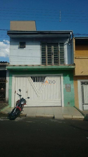 Imagem 1 de 12 de Sobrado Residencial À Venda, Jardim Guanabara, Rio Claro. - So0011