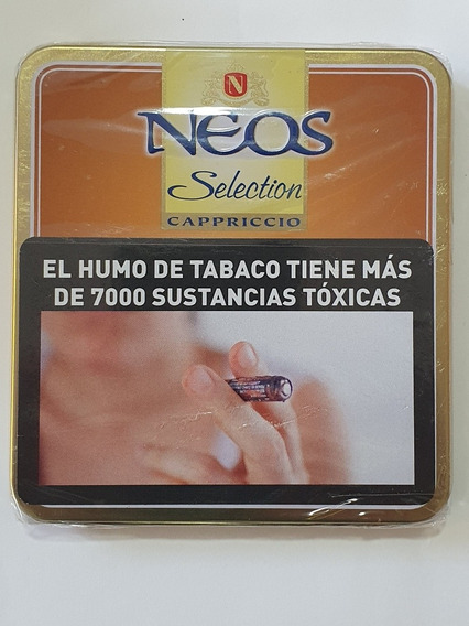 Lata 10 Cigarros Neos Selection Cappriccio