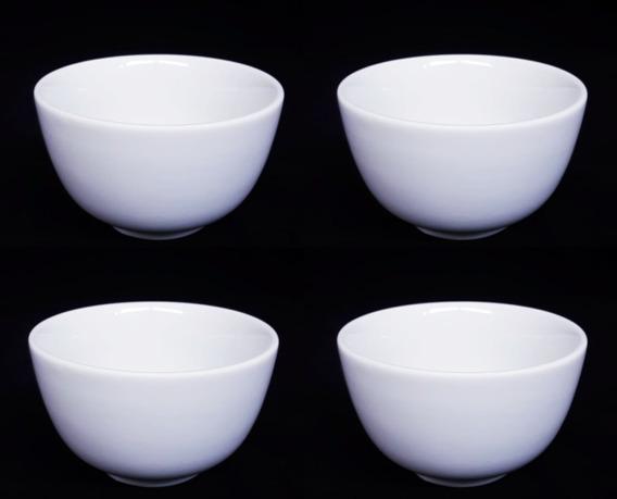 10 Cumbuca Tigelajaponesa Porcelana Branca 400ml 442 Cozinha